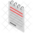 Notepad Memo Book Notes Icon