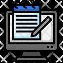 Notepad Computer Desktop Icon