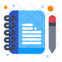 Notepad Diary Book Icon