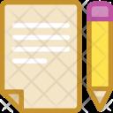 Notes Memo Paper Icon