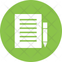 Notes Edit File Icon