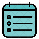 Notes Report Chart Icon