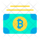 Bitcoins Note Money Currency Icon