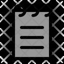 Notes Memo Agenda Icon