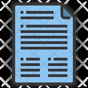 File Paper Document Icon
