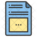 Notes Blog Article Icon