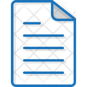 Notes Document Paper Icon