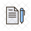 Notes Financial Paper Financial Notes Icon