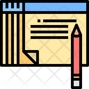 Notes Paper Note Icon