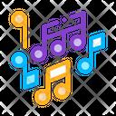 Melody Music Mono Icon