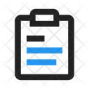 Notes Report List Icon