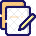 Notes Document Format Icon