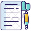 Notes Assignment Task Icon