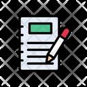 Edit Write Notes Icon