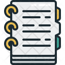 Notes Document Icon