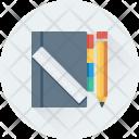 Notes Notebook Pencil Icon