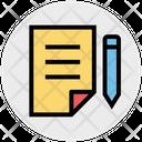 Notes Write Edit Icon