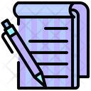 Book Education Pen Icon