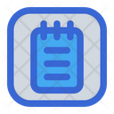 Notes Paper Document Icon
