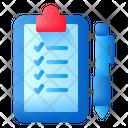 Notes Activity Clipboard Icon