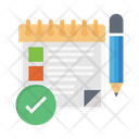Notes Clipboard Edit Icon