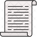 Text Document Notes Icon