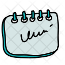 Notes Diary Daily Icon
