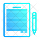 Note Contact Us Communication Icon