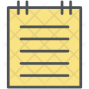 Notes Notepad Writing Icon