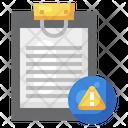 Notes Error File Error Error Icon