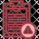 Notes Error Icon