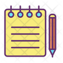 Notes Writing Icon