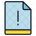 File Notice Exclamation Icon