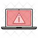 Notice Warning Hacked Icon