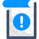 Notice Attention Info Icon