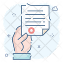 Notice Official Documentation Terms Icon
