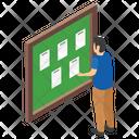 Notice Board Student Board Notification Board Icon