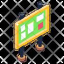 Bulletin Board Notice Board Pinboard Icon