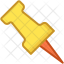 Noticeboard Pin Push Icon