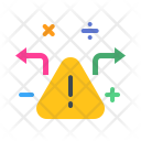 Notice Warning Maths Icon