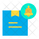 Delivery Notification Parcel Notification Delivery Bell Icon