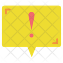 Notification Exclamation Mark Danger Icon