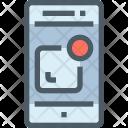 Mobile Alarm Notification Icon