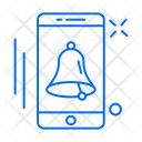 Bell Mobile Alarm Icon