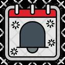 Alarm Bell Calendar Icon