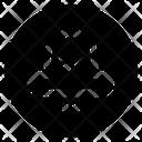 Notification Sale Black Icon