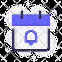 Calendar Notification Schedule Icon