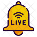 Notification Live Bell Icon