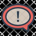 Notification Notice Error Icon