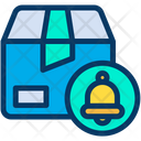 Notification Bell Delivery Icon